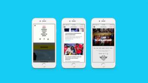 Will.I.Am mobile responsive website mockup