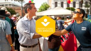 LA Mayor's Fund branding