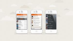 PTCH mobile app mockup