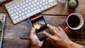 PTCH mobile app app mockup