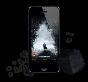 Star Trek Into Darkness mobile user interface