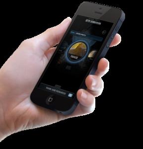 Star Trek Into Darkness mobile user interface mockup