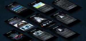 Star Trek Into Darkness mobile mockups
