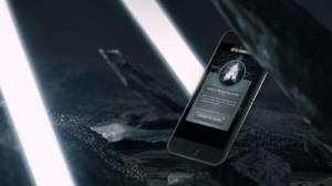 Star Trek Into Darkness mobile mockup