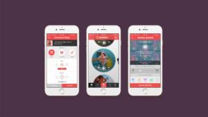 Wurrly mobile app mockup