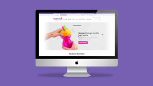 Munchkin ecommerce website mockup