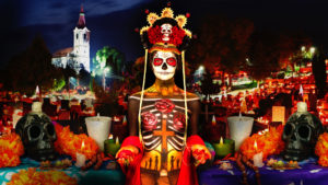 skin wars painting social media day of the dead