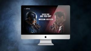 Disney Fankit website mockup