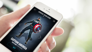 Disney Fankit mobile device responsive mockup