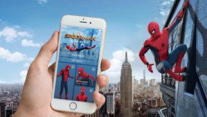 Holo Spiderman promotion