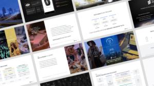 Ericsson Emodo website mockup