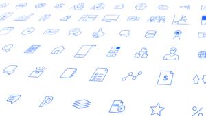 Ericsson Emodo icons mockup