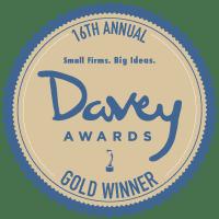 davey awards gold medal