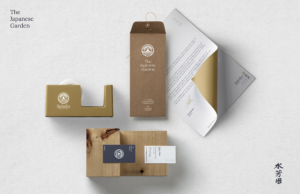 los angeles japanese garden packaging design