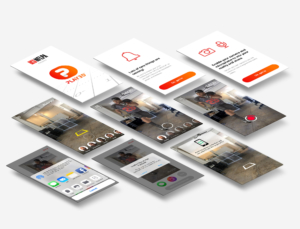 Play 3D mobile mobile app user interface mockup