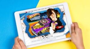 Mattel Hot Wheels Customs website mockup