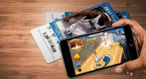 Qualcomm Mav's AR mobile app mockup
