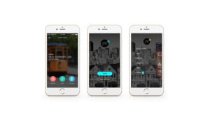 Salesforce One City mobile app mockup