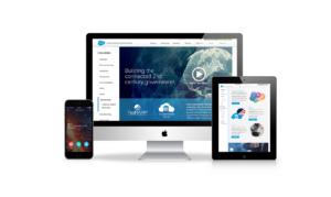 Salesforce website mockup